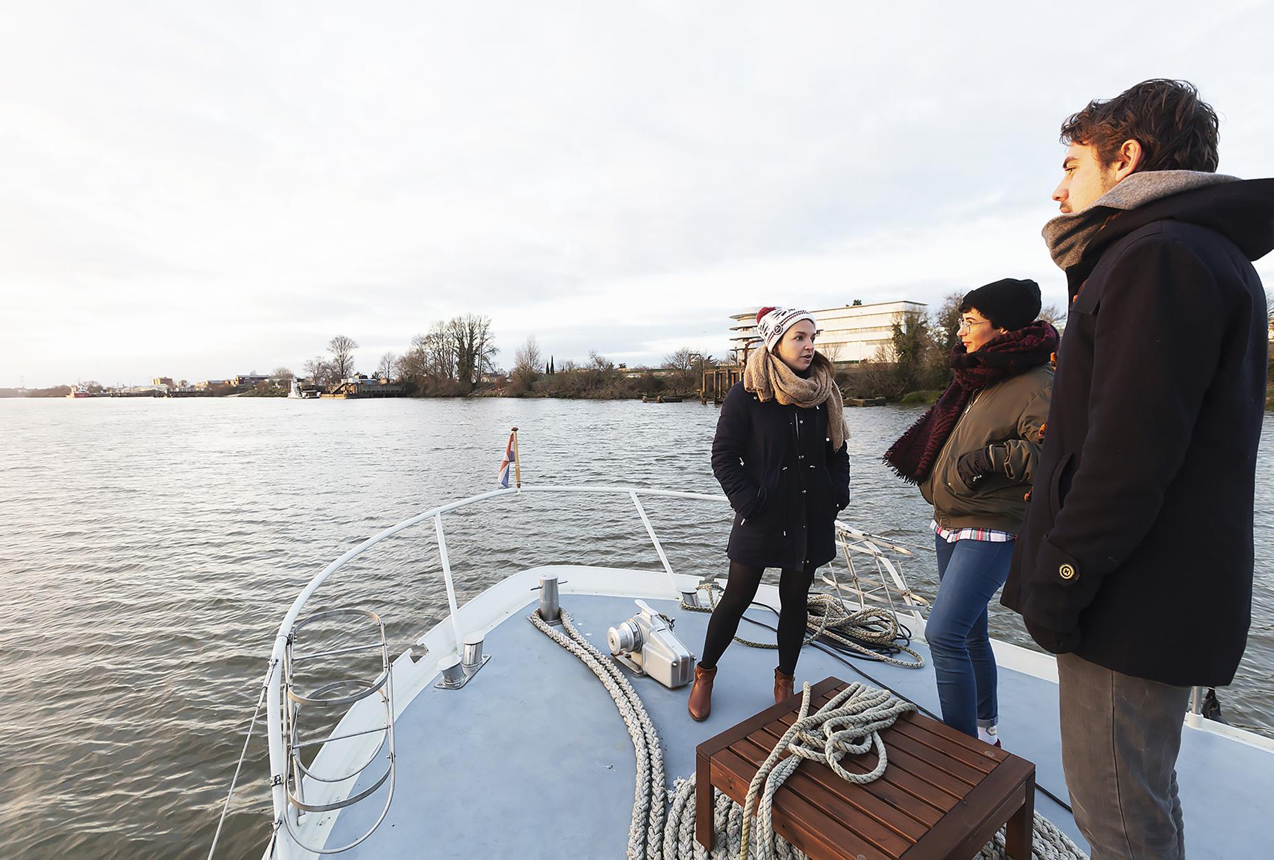 , Janvier 2019 – La bonne année sur la Loire !